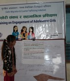 Adolescent Girls Focused Training on Rights of Girls